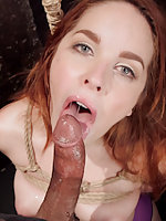 Spanish slave girl is tested, roped and fucked