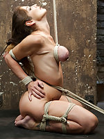 Sexual torment and intense flexibility bondage