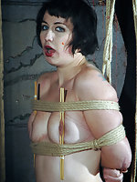 Tightly painfully roped, humiliated and degraded