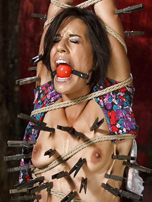 Lyla gets brutal bondage and extreme suffering